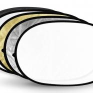 Oval reflector cover large area by Photozuela