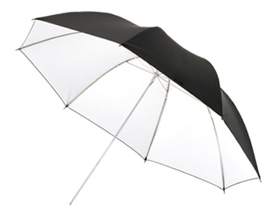 White Reflective Umbrella
