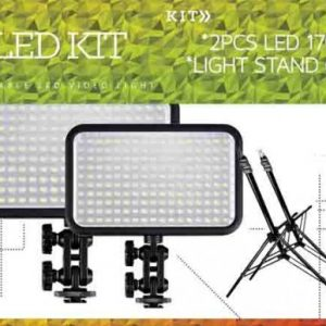 LED studio kit, video production lighting kit, specialized lights for events, photobooth lights, photobooth supplies, photo studio kit, kits for video making