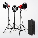 Red Heads 800w vintage studio lights setup by Photozuela