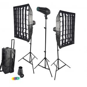 Tampa 180 Studio light flash kit by Photozuela