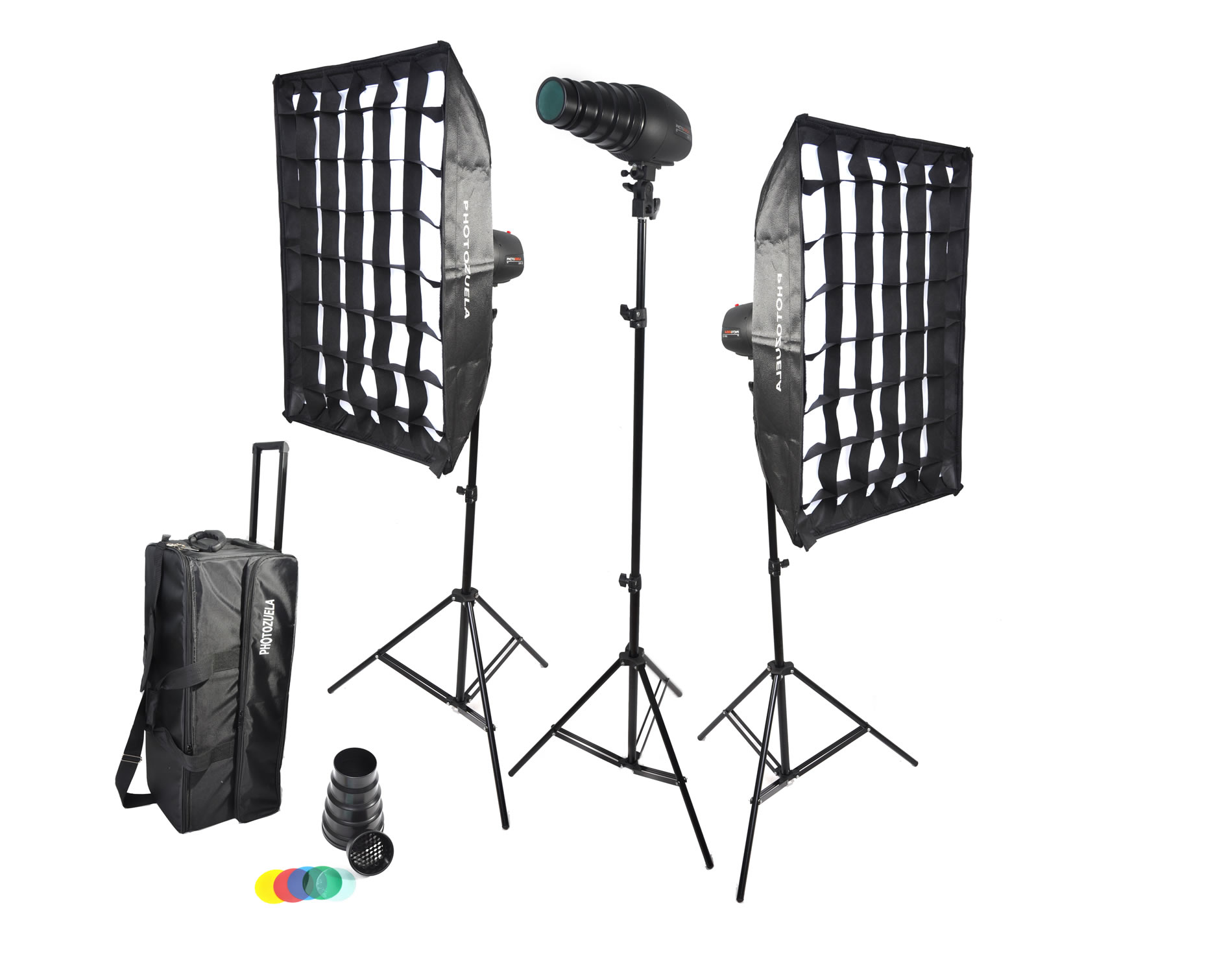 Tampa 180 Studio light flash kit by Photozuela