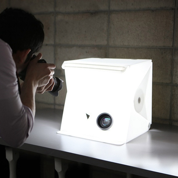 Product Photography LED Softbox by Photozuela