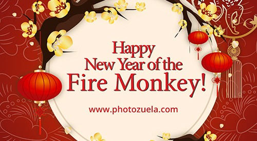 Photozuela blog post year of the monkey 2016