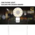 Photozuela Selfie LED Light Deluxe (Gold and Silver)