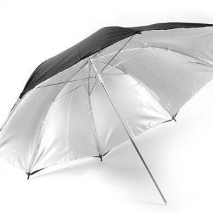 Silver Reflective Umbrella